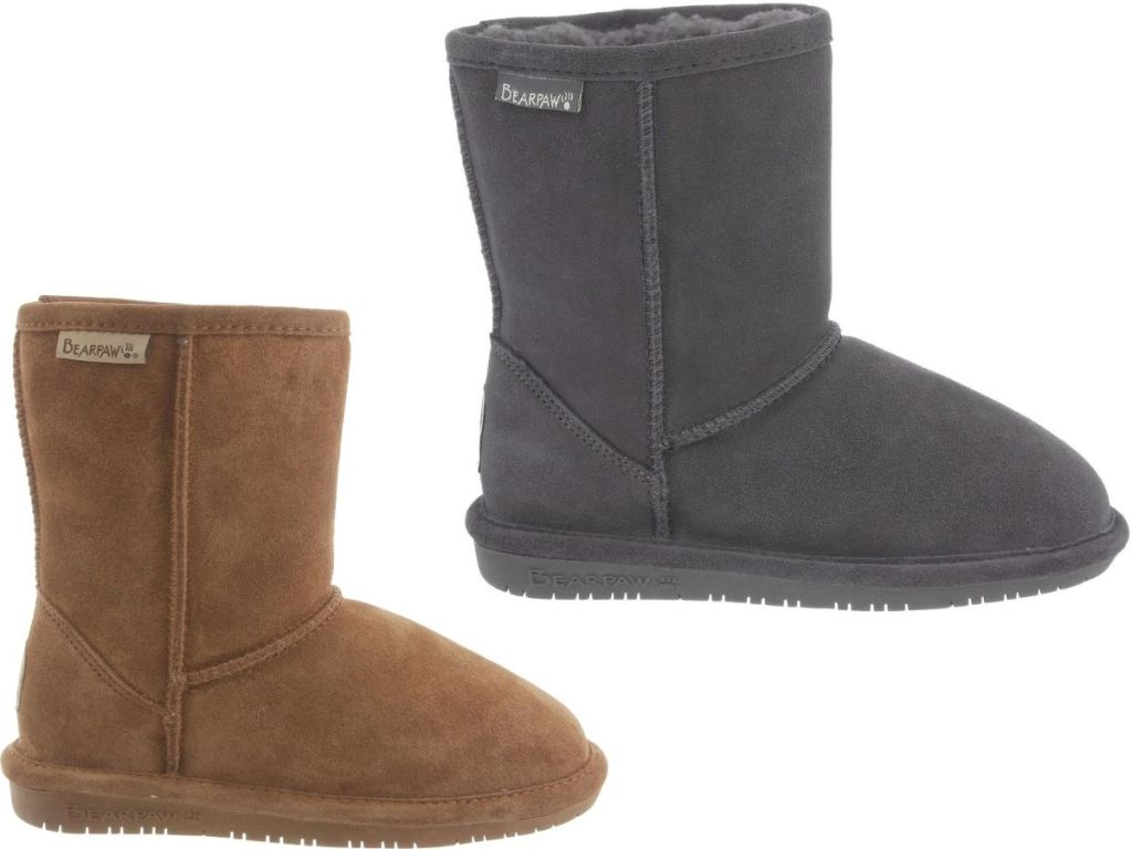 Kids and women's bearpaw Eva Boots