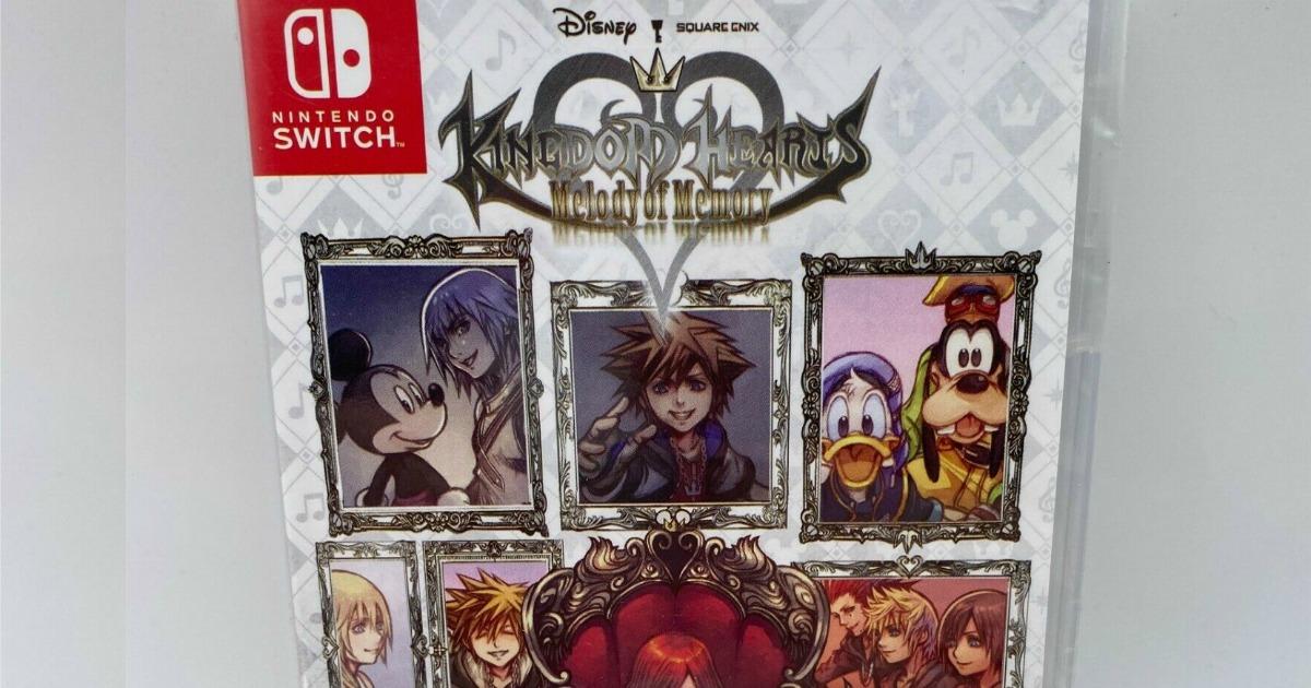 Kingdom Hearts Melody of Memory Game