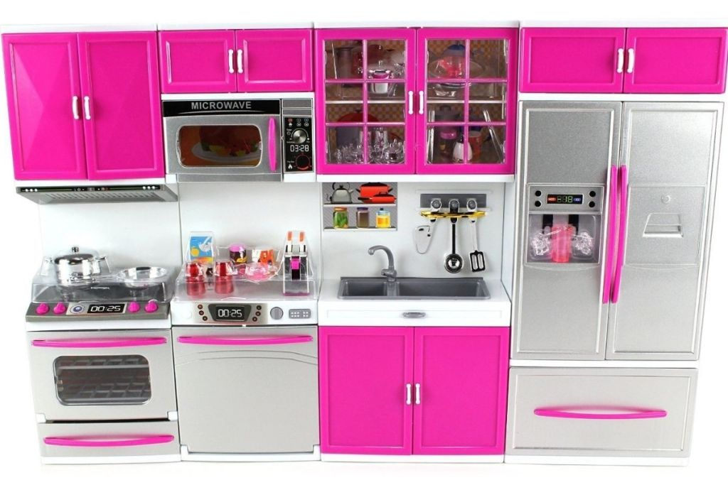 pink and silver Kitchen Connection My Modern Kitchen