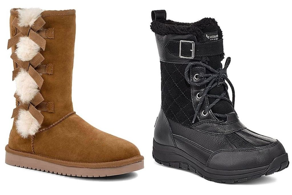 Koolaburra by UGG Tan and Black Women's Boots