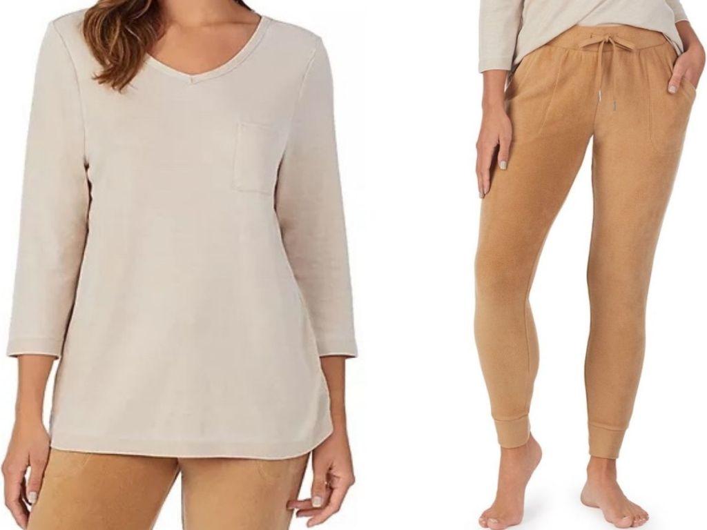 women's Koolaburra Pajama Top and Pants