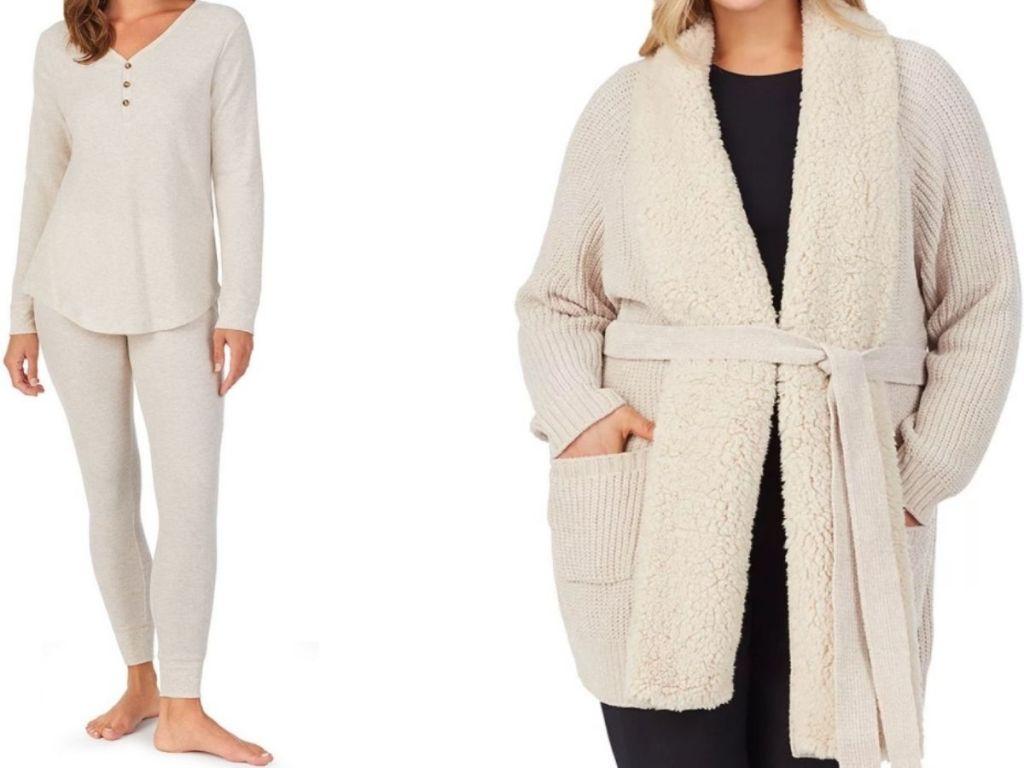 Koolaburra women's pajamas and plus size robe