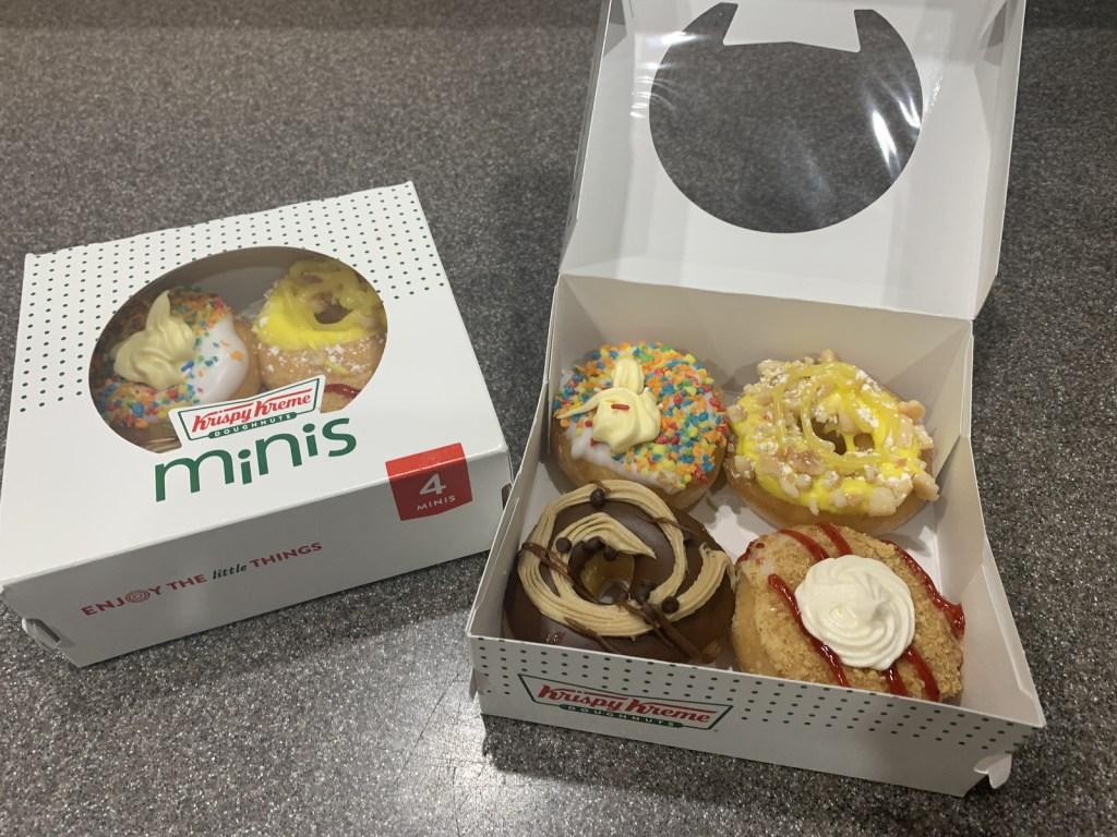 Krispy Kreme Mini Donuts 4 pack