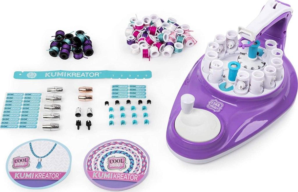 KumiKreator Bracelet Maker Contents