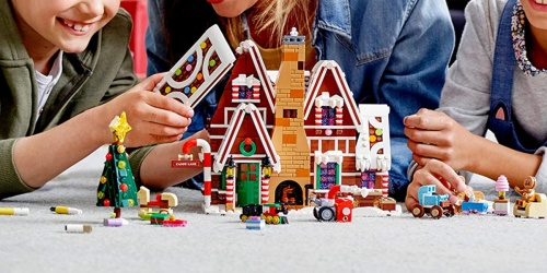 LEGO Creator Gingerbread House Available to Order Now + FREE LEGO City Rescue Set w/ Purchase
