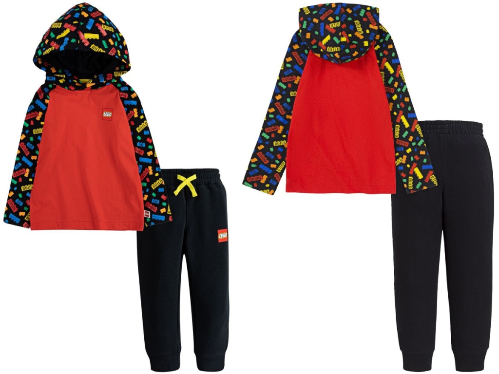 LEGO Toddler Boys Hooded Shirt and Joggers Set