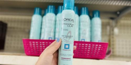 L'Oreal Extraordinary Clay Dry Shampoo Just $1 at Dollar Tree