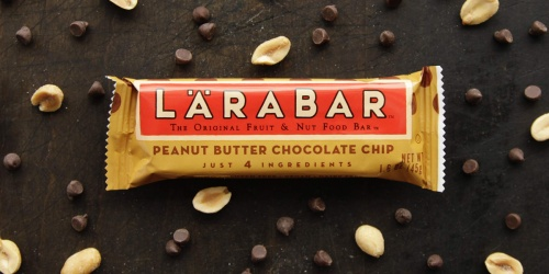 Lärabar Peanut Butter Chocolate Chip 16-Pack Only $10.56 Shipped on Amazon | Just 66¢ Each