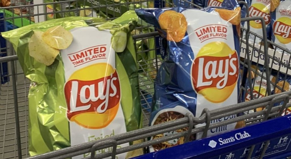 Lay's Pickle Chips w/ Ranch or Game Day Chili