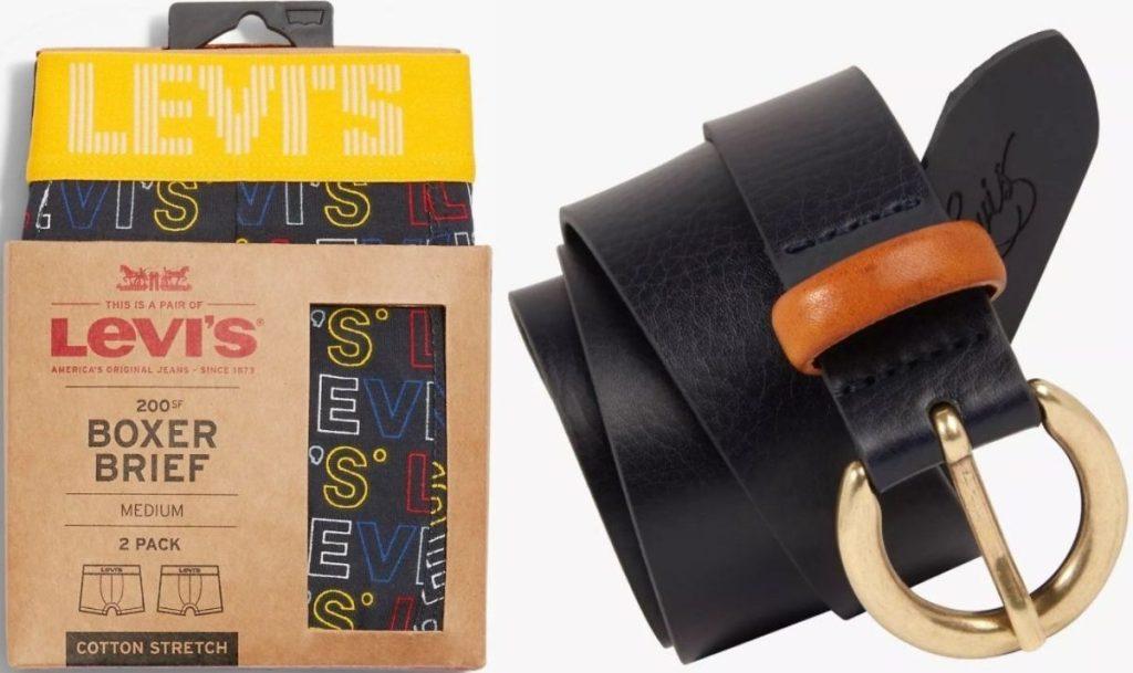 Levis Boxer Briefs and Belt