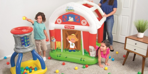 Little People Barn Ball Pit & Silo Set Only $27.99 on Walmart.com (Regularly $46)