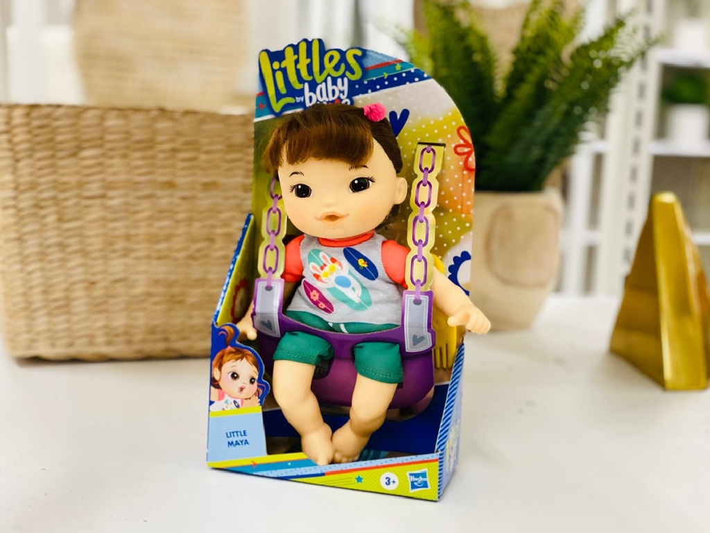 Littles by Baby Alive Littles Squad Little Maya 9_ Doll with Brown Hair