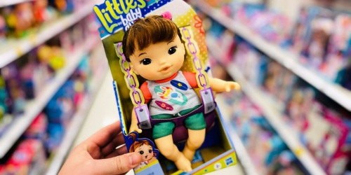 Baby Alive Littles Squad Doll Only $4.95 on Walmart.com (Regularly $10)