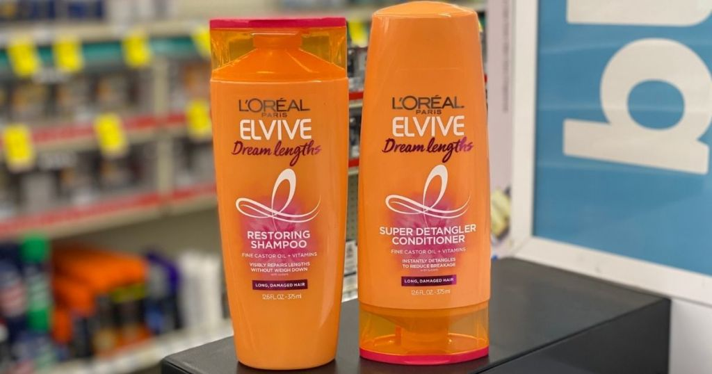 Loreal Elvive Shampoo and conditioner