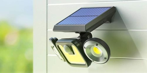Outdoor Solar-Powered Lights 2-Pack Only $26.99 Shipped on Amazon