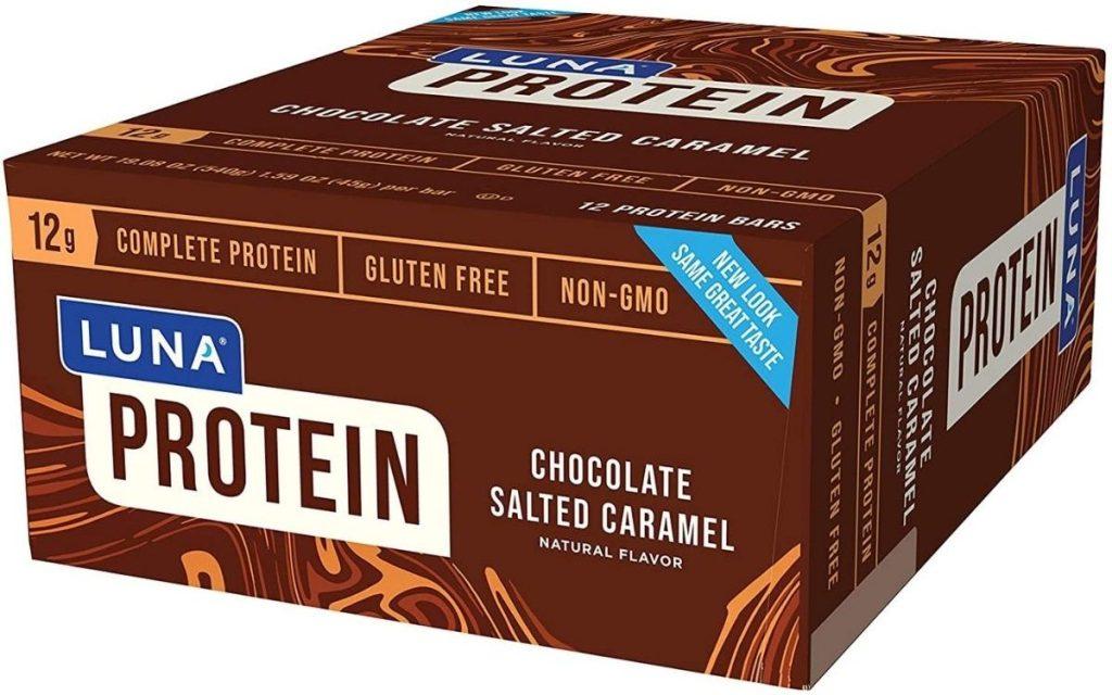 Luna Chocolate Salted Caramel Protein Bars