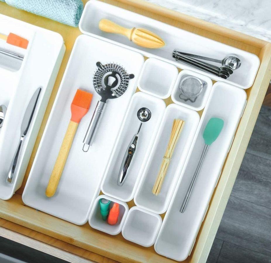 Madesmart 9-Piece Drawer Organizer Set