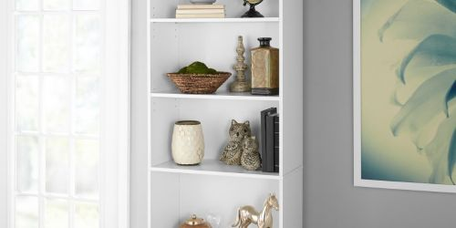 Mainstays 5-Shelf 71″ Bookcase Only $29.88 on Walmart.com (Regularly $49)