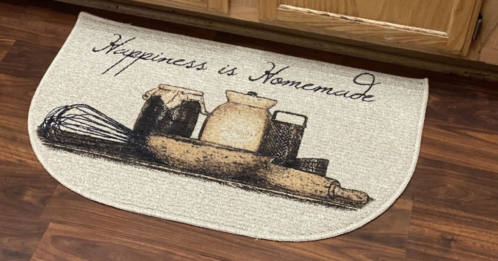 Mainstays Happiness is Homemade Kitchen Mat