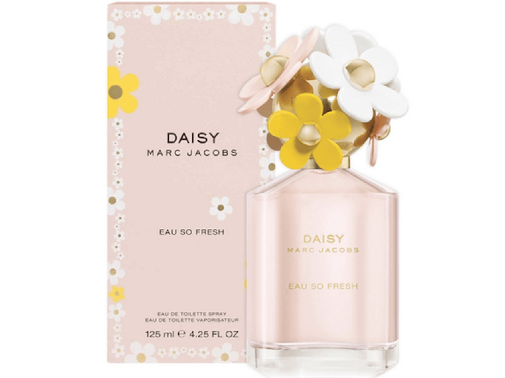 Marc Jacobs Daisy Eau So Fresh Eau de Toilette, Perfume for Women, 4.25 Oz
