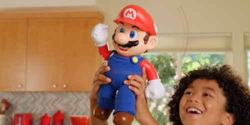 Super Mario Bros It's-A Me, Mario! 12″ Talking Figure Only $24.99 on Target.com (Regularly $50)