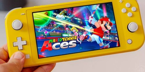 Mario Tennis Aces Nintendo Switch Game Only $25 on Target.com (Save on More Mario Games Too!)