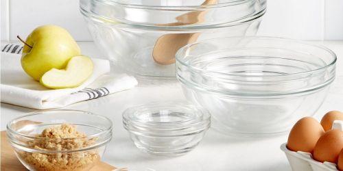 Martha Stewart 10-Piece Glass Mixing Bowl Set Only $28.99 Shipped on Macys.com (Regularly $58)