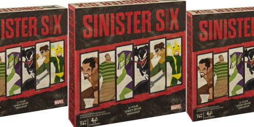 Marvel Sinister Six Board Game Only $10.48 on Amazon (Regularly $30)