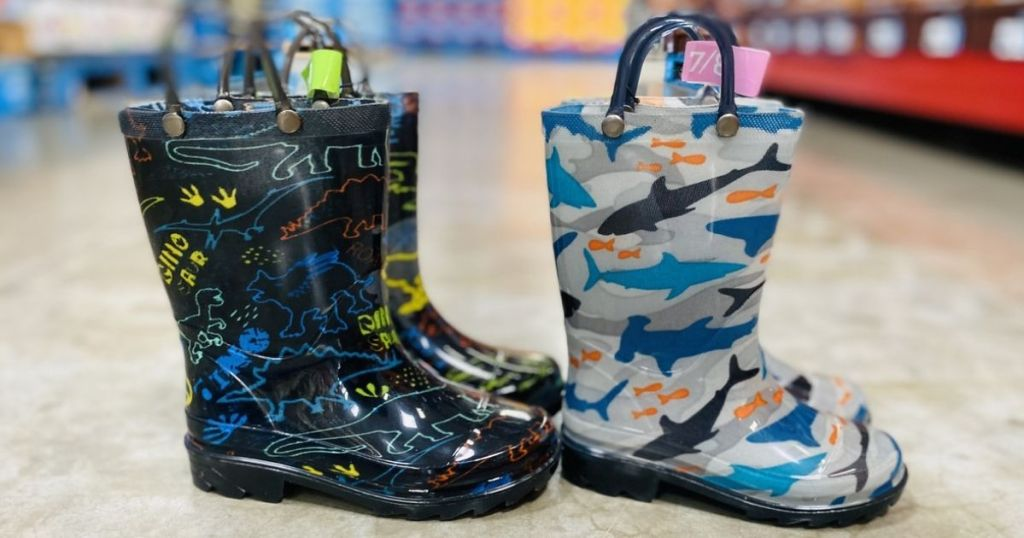 Members Mark Kids Light-Up Rain Boots