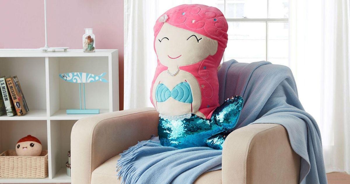 Members mark Mermaid Pillow