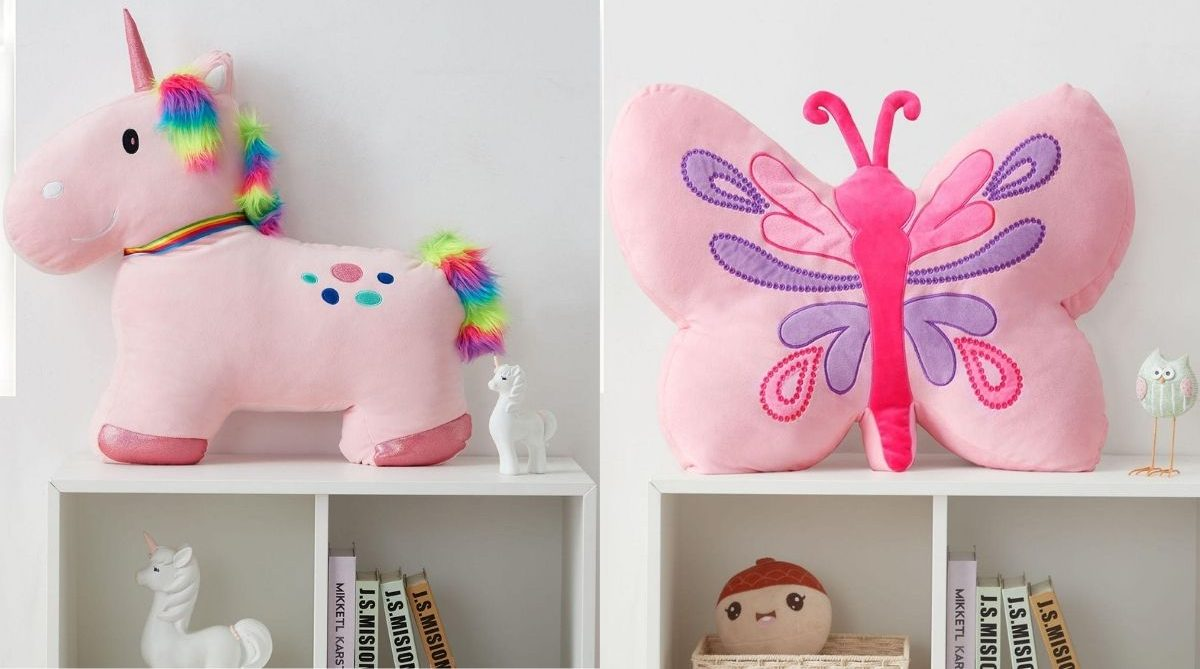 Members Mark Squishy Unicorn or Butterfly Pillow