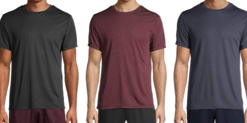 Up to 80% Off Men's Athletic Tees & Shorts on Walmart.com