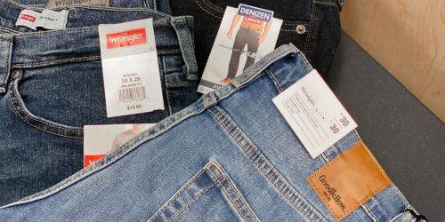 Men's Jeans from $11.52 on Target.com | Denizen from Levi's, Wrangler, & More