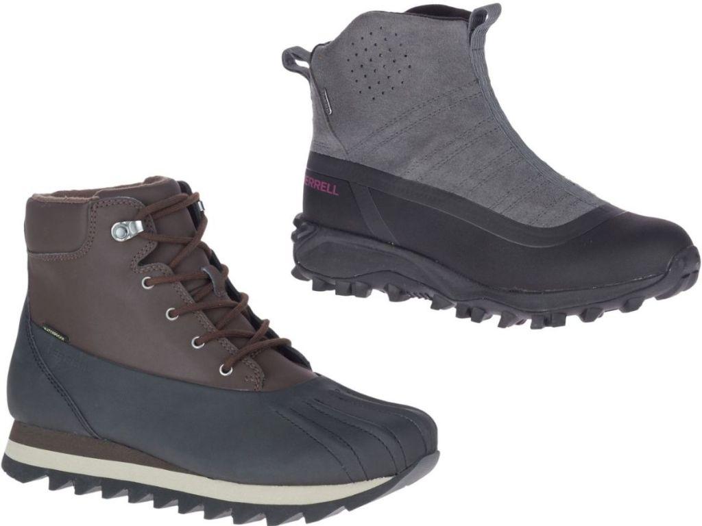 men's & women's merrell boots