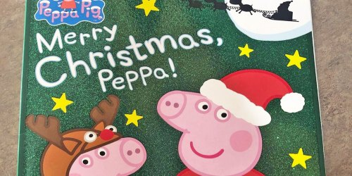 Merry Christmas, Peppa! Kids Book Just $2.49 on Amazon (Regularly $5) + 50% Off More Christmas Books