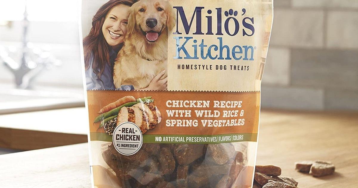 Milo's Kitchen Chicken Recipe Dog Treats