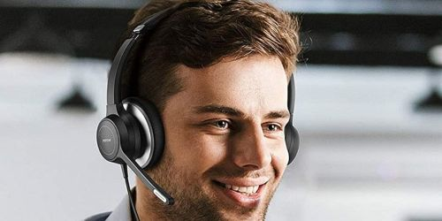 Headset w/ Microphone Only $24.99 Shipped on Amazon | Great for Learning & Working from Home