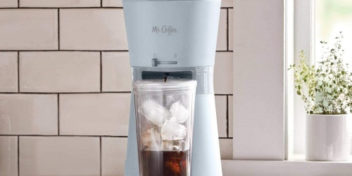 Mr. Coffee Iced Coffee Maker Bundle w/ Tumbler Only $29.99 on Target.com