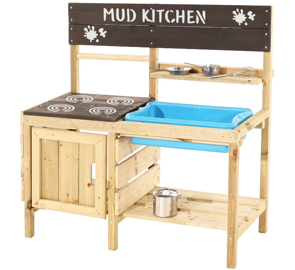 wooden outdoor play kitchen