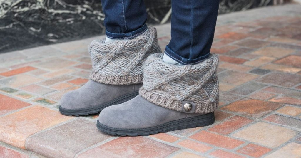 person wearing boots