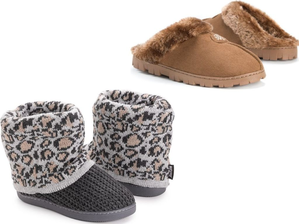 Muk Luks Slipper Boots and Slides