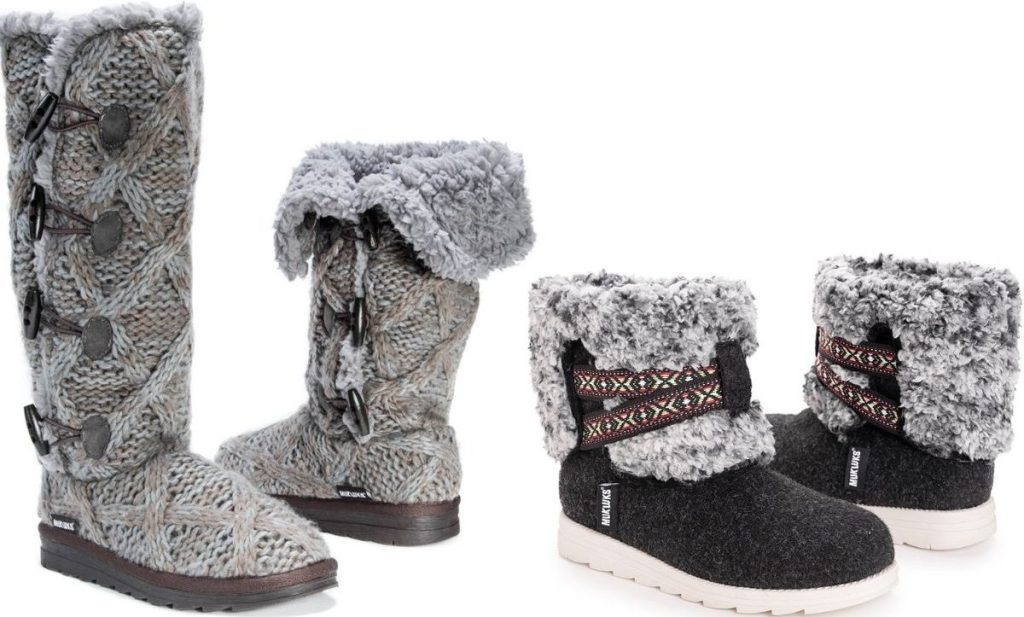 Two pairs of Muk Luks Womens Boots