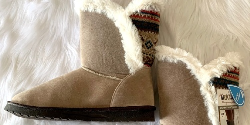 Muk Luks Women's Boots from $19.99 on Zulily (Regularly $65+)
