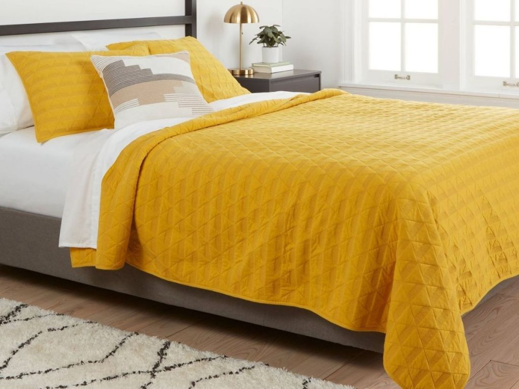 Nate Berkus Quilt from Target on Bed