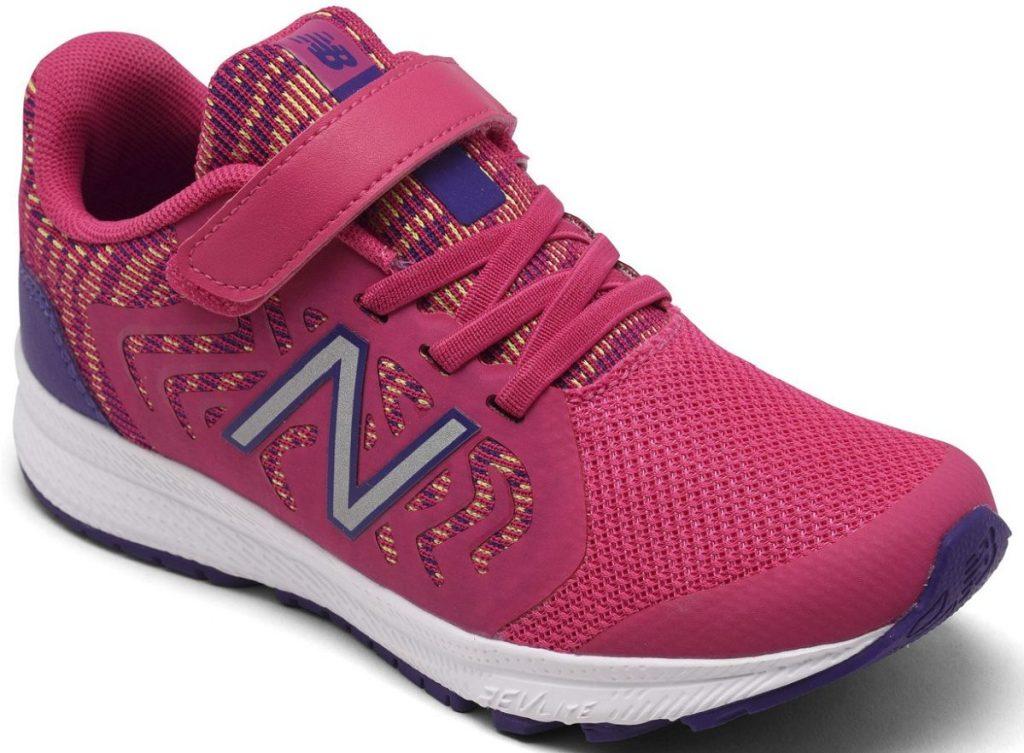 girls pink sneaker