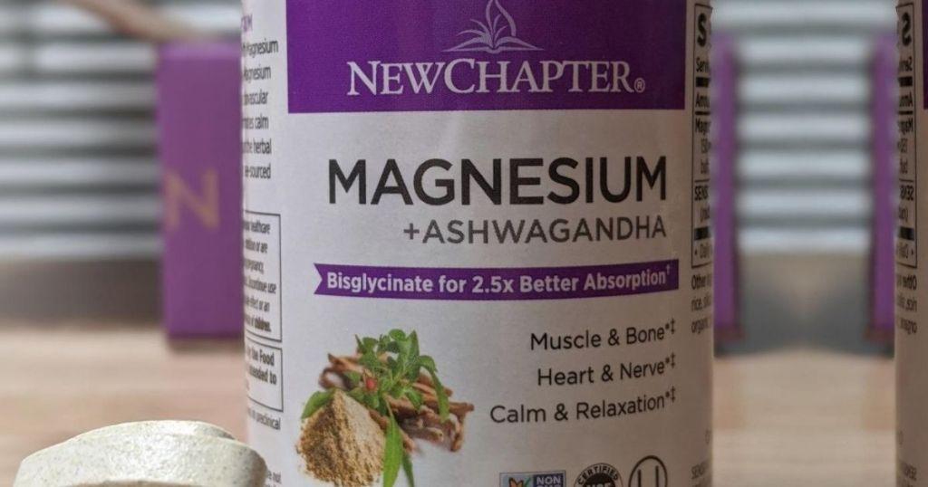 new chapter magnesium bottle