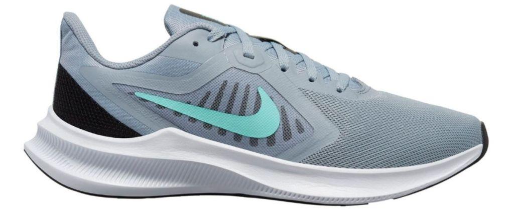 gray Nike Downshifter 10 Women's Running Shoes