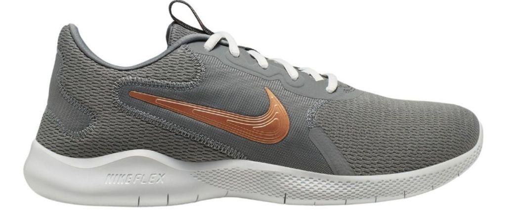 gray Nike Flex Experience RN 9 Men's Running Shoes