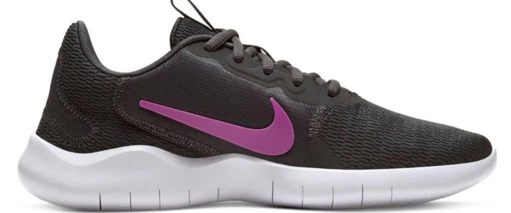 black and pink Nike Flex Experience RN 9 Women's Running Shoes