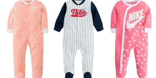 Nike Sleep & Play Baby Suits from $8.99 (Regularly $18+) + Free Shipping for Select Kohl's Cardholders